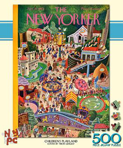 Children's Playland (The New Yorker) Magazines and Newspapers Jigsaw Puzzle